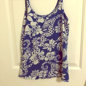 Lilly Pulitzer seahorse tank
